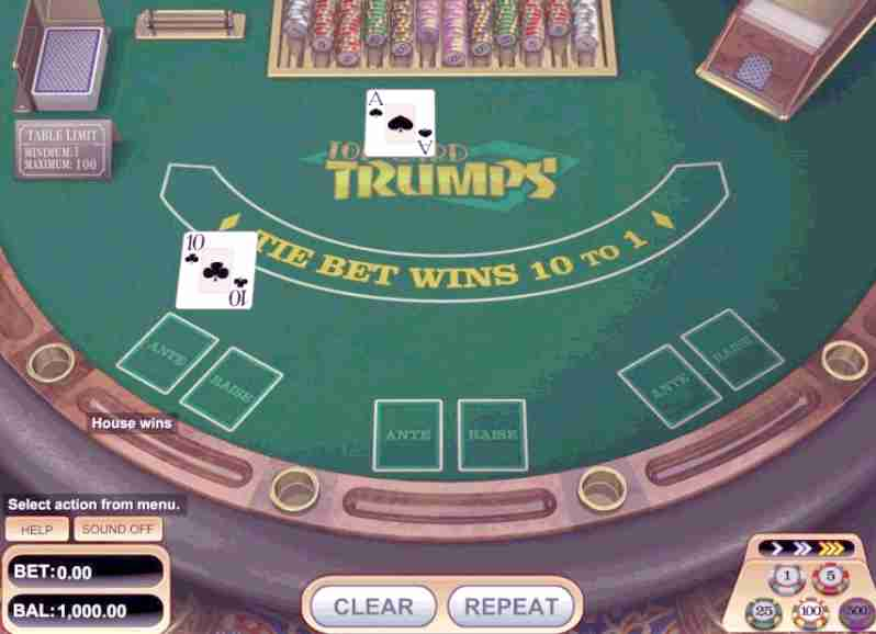 Card Trumps by Betsoft